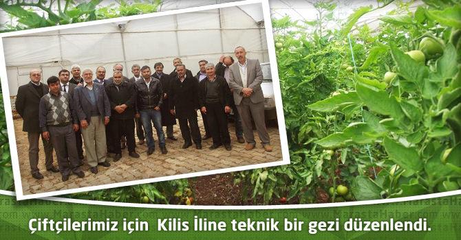 Çiftçilerimiz için Kilis İline teknik bir gezi düzenlendi.