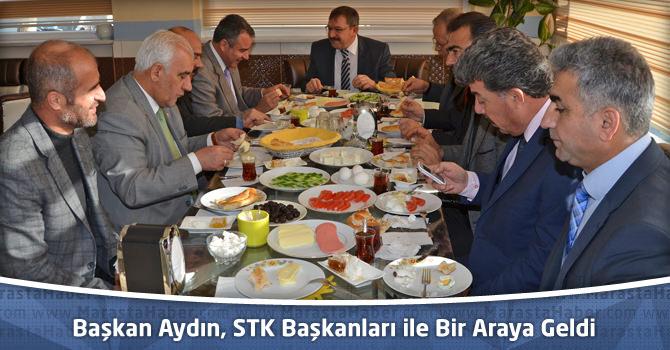 Göksun Belediye Başkanı Aydın, STK Başkanları ile Bir Araya Geldi