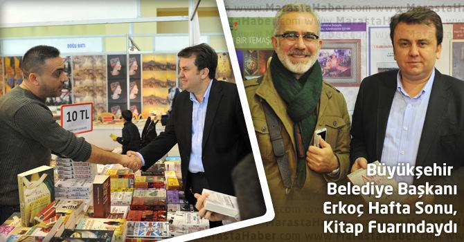 Başkan Erkoç Hafta Sonu, Kitap Fuarındaydı