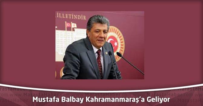 Mustafa Balbay Şanlıurfa ve Kahramanmaraş'ta