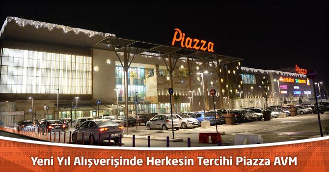 Yeni Yıl Alışverişinde Herkesin Tercihi Kahramanmaraş Piazza