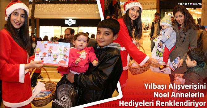 Yılbaşı Alışverişini Noel Annelerin Hediyeleri Renklendiriyor