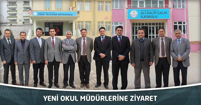 Yeni Okul Müdürlerine Ziyaret