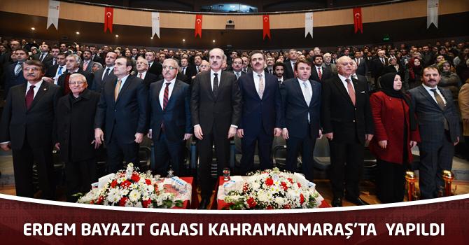 Erdem Bayazıt Galası Kahramanmaraş'ta Yapıldı