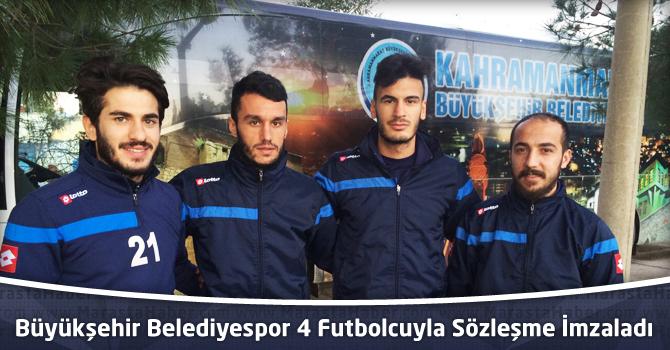 Büyükşehir Belediyespor 4 futbolcuyla Sözleşme İmzaladı
