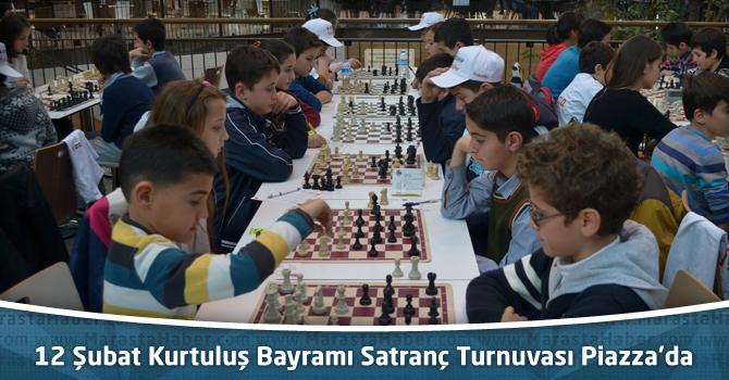 12 Şubat Kurtuluş Bayramı Satranç Turnuvası Kahramanmaraş Piazza'da