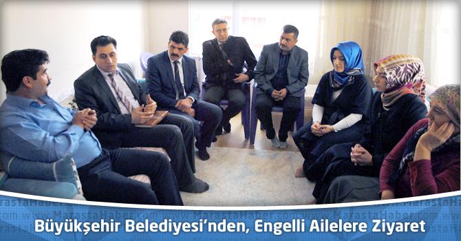 Kahramanmaraş Büyükşehir Belediyesi'nden, Engelli Ailelere Ziyaret