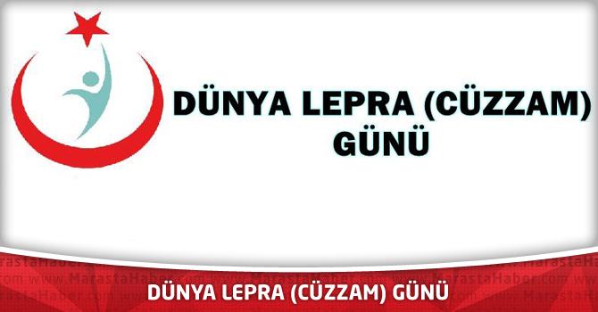 Dünya Lepra (Cüzzam) Günü