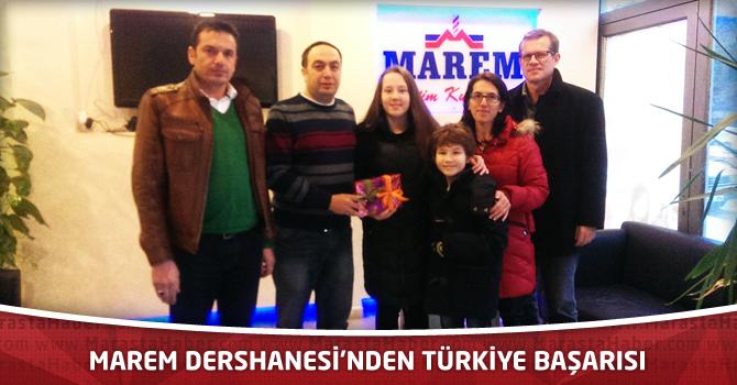 Marem Dershanesi'nden Türkiye Başarısı