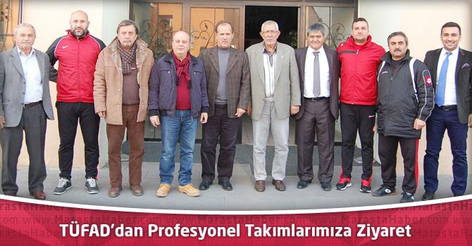 TÜFAD'dan Profesyonel Takımlarımıza Ziyaret