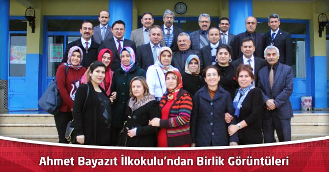 Ahmet Bayazıt İlkokulu'ndan Birlik Görüntüleri