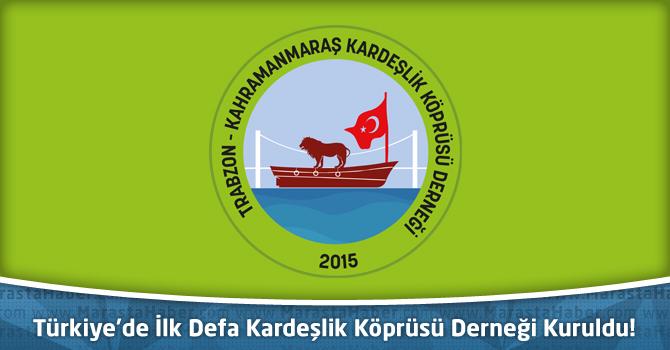 Türkiye'de İlk Defa Kardeşlik Köprüsü Derneği Kuruldu!