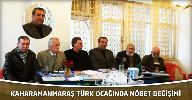 Kaharamanmaraş Türk Ocağında Nöbet Değişimi