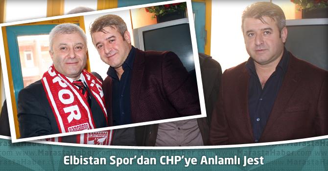 Elbistan Spor'dan CHP'ye Anlamlı Jest
