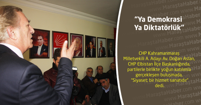 """""""Ya Demokrasi Ya Diktatörlük"""""""