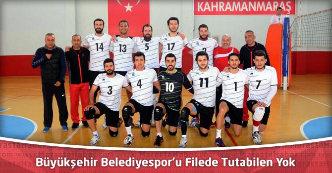 Kahramanmaraş Büyükşehir Belediyespor'u Filede Tutabilen Yok