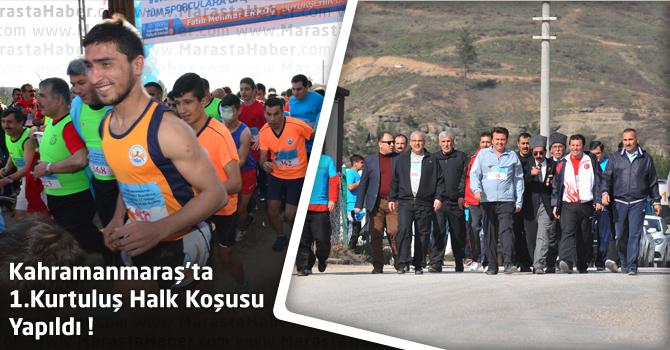 Kahramanmaraş'ta 1.Kurtuluş Halk Koşusu Yapıldı