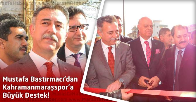 Kahramanmaraşspor'a Mustafa Bastırmacı'dan Büyük Destek!