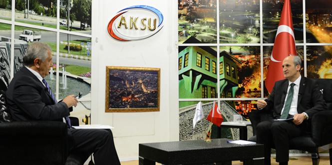 Dulkadiroğlu Belediye Başkanı Okay, 1 Yılda Yapılan Faaliyetleri Aksu TV'de Anlattı