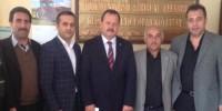 Ejder Oruç, Kahramanmaraş Ziraat Odası'nı Ziyaret Etti