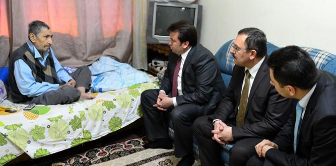 Başkan Erkoç'tan, Olzıngan'a Anlamlı Hediye
