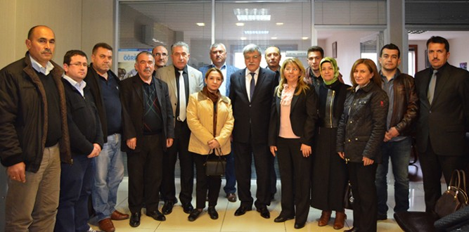 Ayşe Kazlı'dan, TES-İŞ Sendikasına Ziyaret
