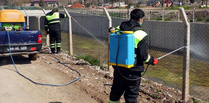 Kahramanmaraş'ta Sinek Larvaları için İlaçlama Çalışmaları Başladı