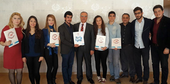 Süfyan Emiroğlu,Ulusal Gençlik Parlamentosu ve Öğrencilerle Buluştu