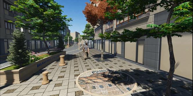 Dulkadiroğlu Caddelerinde İlk Değişim Dedezade Caddesi'yle Başlıyor