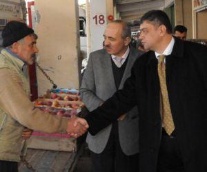Mahmut Arıkan'dan Esnaflara Ziyaret – Foto Galeri