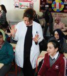 Osmangazi Ortaokulunda Deprem Tatbikatı