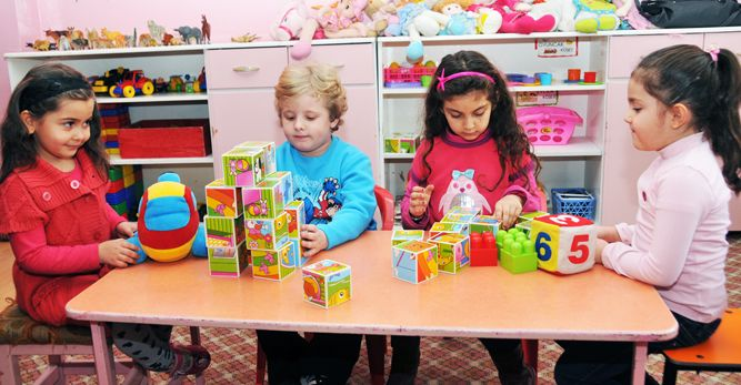 """Kadınlara yönelik """" 4-6 Yaş Çocuk Eğitimi ve Etkinlikleri """" kursu açılıyor."""