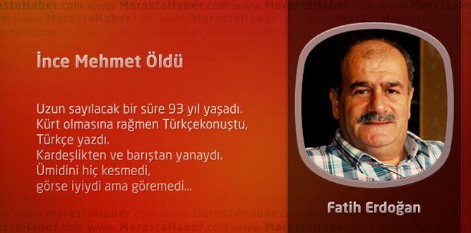 İnce Mehmet Öldü