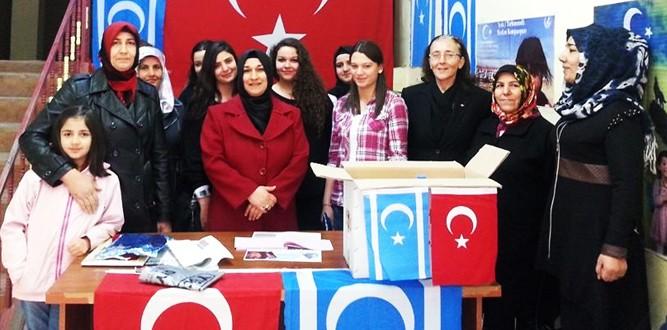 Asenalar'dan Türkmenlere Yardım Eli