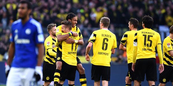 Borussia Dortmund – Schalke 04: 3-0