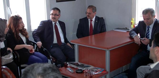 Prof.Dr. Kütükçü, Seçim Çalışmalarına Hız Kesmeden Devam Ediyor