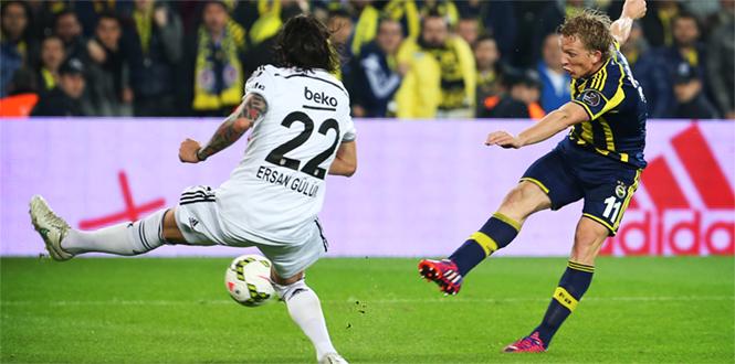 Fenerbahçe 1 – Beşiktaş 0 Geniş Maç Özeti ve Maçın Golleri