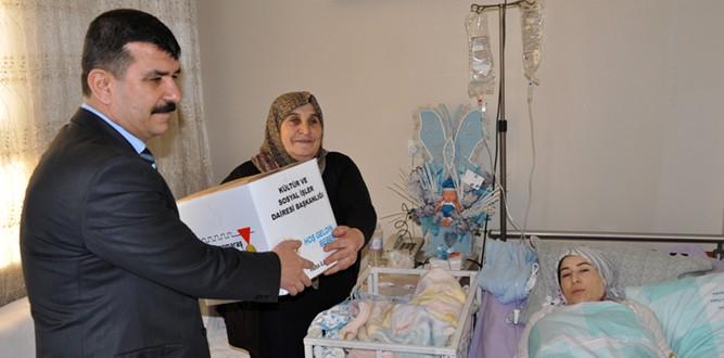 Onikişubat'ta 'Hoşgeldin Bebek' Projesi Devam Ediyor