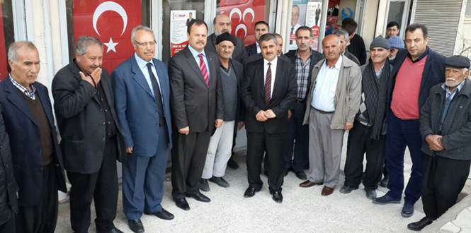 MHP Milletvekili Aday Adayı Ejder Oruç Teşkilatları Heyecanlandırıyor