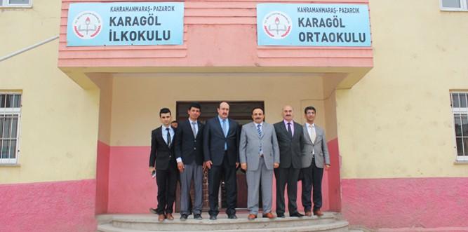 Akkurt, Pazarcık'ta Okul Müdürleriyle TEOG Sınavını Değerlendirdi