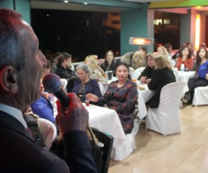 Abidin Kul Partililerle Akşam Yemeğinde Buluştu
