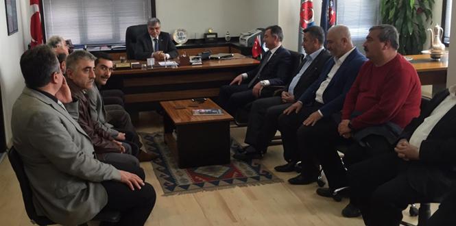 Milletvekili Aday Adayı Bastırmacı'dan Tes-İş ve Yol-İş Sendikası'na Ziyaret