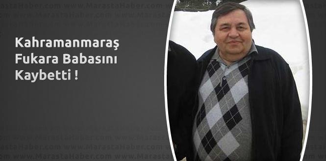 Kahramanmaraş Fukara Babasını Kaybetti