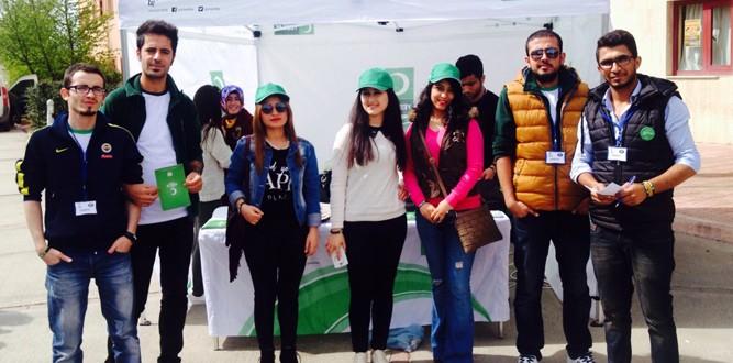 KSÜ Yeşilay Gönüllü Öğrencileri Atakta