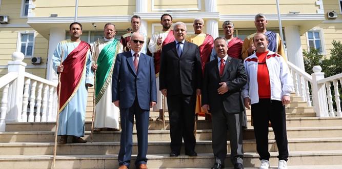 Afşin Gönül Elçileri, Vali Güvençer'in Makamında