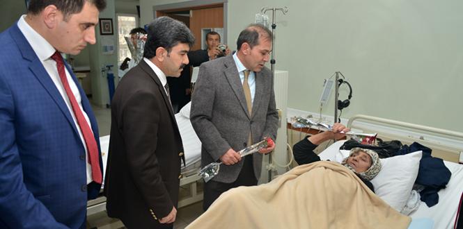 Kahramanmaraş Büyükşehir Belediyesi'nden Diyaliz Hastalarına Ziyaret