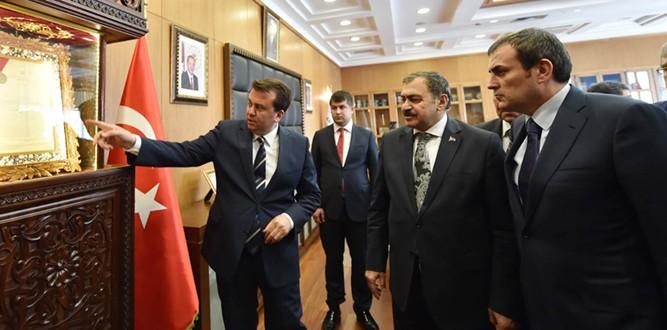 Bakan Eroğlu'ndan Kahramanmaraş'a Ziyaret
