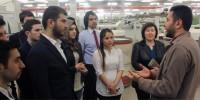 KSÜ Tekstil Mühendisliği Öğrencileri Fabrika Tozu Yutmaya Başladı