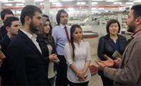 KSÜ Tekstil Mühendisliği Teknik Gezisinden Kareler