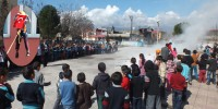 Aksu İlkokulu'nda Deprem Tatbikatı